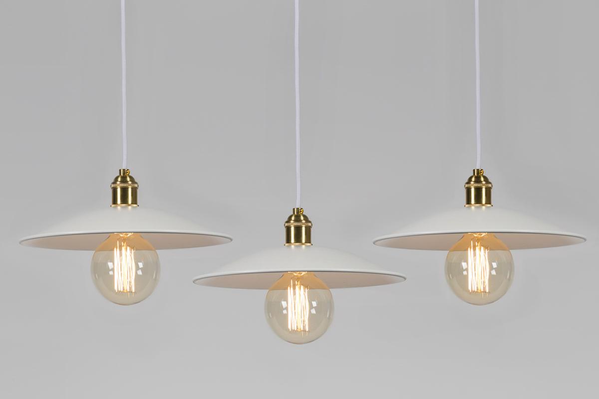 lampa złota retro