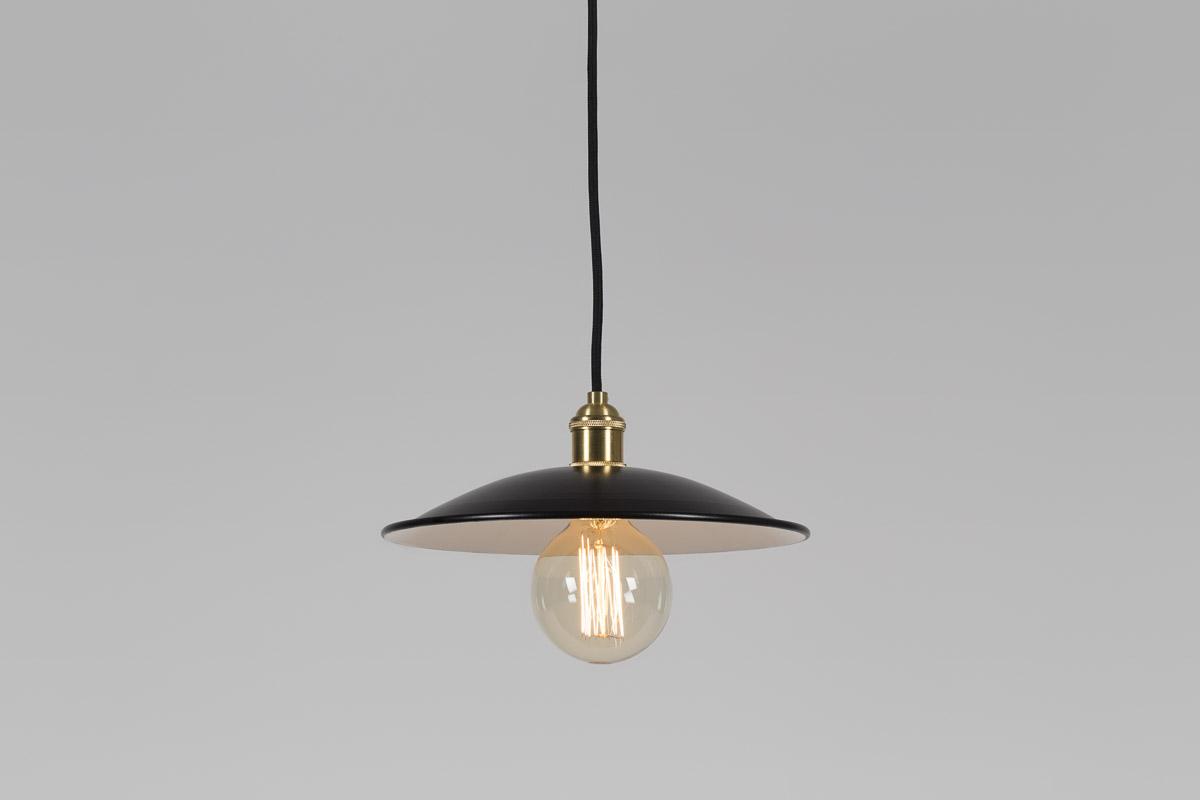 lampa retro czarna