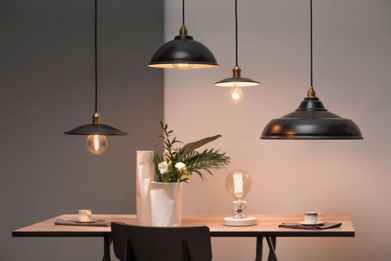 Lampy retro i loftowe czarne