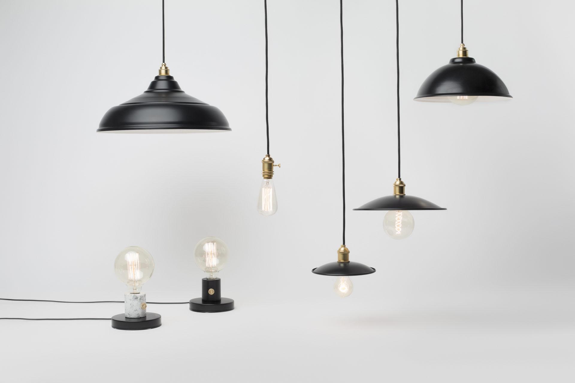lampy retro metalowe